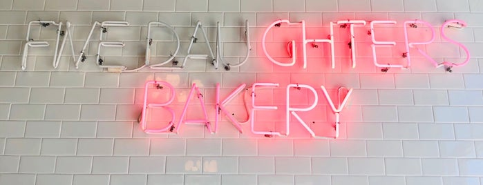 Five Daughters Bakery is one of Nashville.