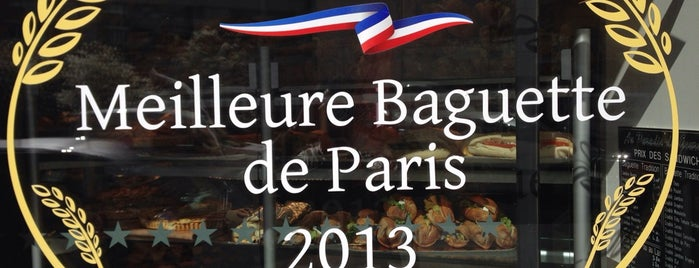Au Paradis du Gourmand is one of Top Baguette.