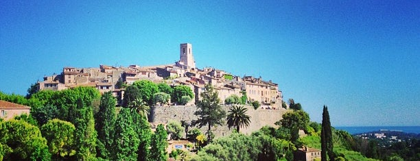 Saint-Paul-de-Vence is one of Aus, Bel, Fra, Ger, Ita & Swi.