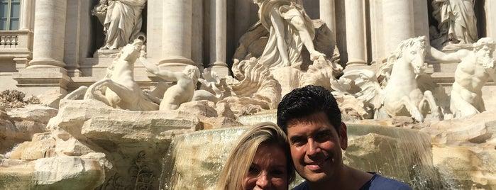 Trevi-fontein is one of Locais curtidos por Monica.