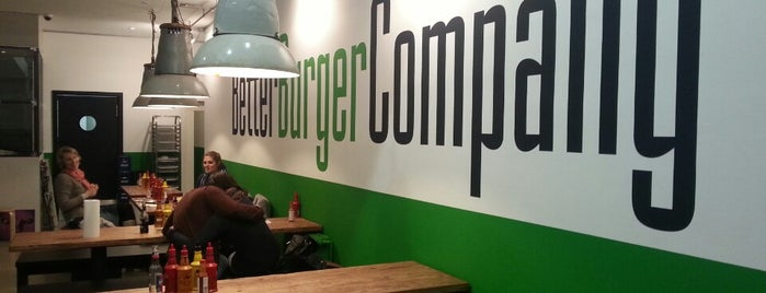 Better Burger Company is one of Lugares guardados de peter.