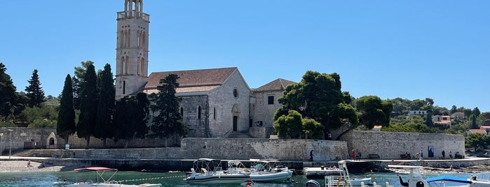 Franciscan Monastery is one of Hvar.