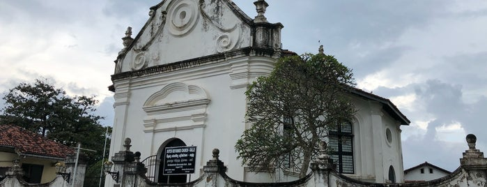 Dutch Reformed Church is one of Galle.