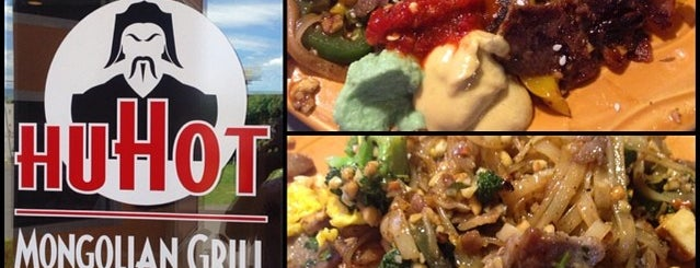 HuHot Mongolian Grill is one of สถานที่ที่ Gaston ถูกใจ.