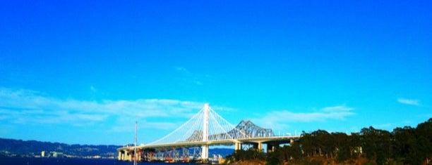 Yerba Buena Island is one of Bay Area.