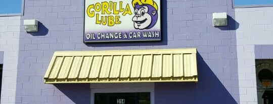Gorilla Lube and Car Wash is one of Orte, die Matt gefallen.