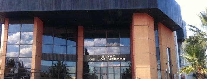 Teatro de los Héroes is one of Alejandro : понравившиеся места.