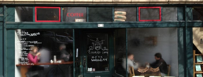 Courier Coffee is one of Portland Picks.