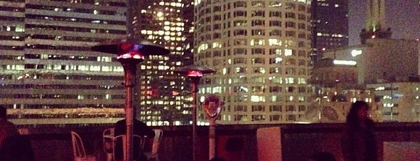 Rooftop Bar at The Standard is one of Downtown LA Bars.