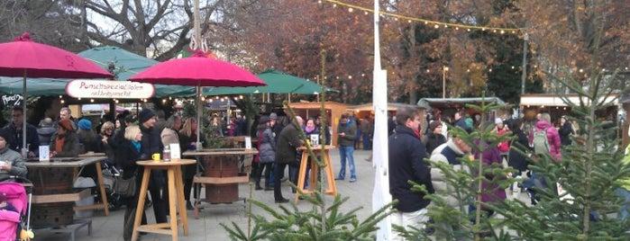 Adventmarkt vor der Karlskirche is one of 'Tis the Season: Christmas Markets.