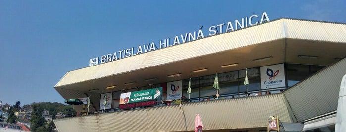 Bratislava hlavná stanica is one of Follow the Orient Express — Şark Ekspresi.