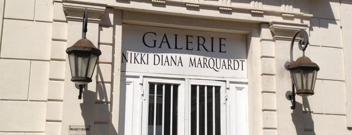 Galerie Nikki Diana Marquardt is one of PARIS.
