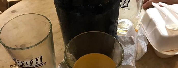 Cervecería Spoh is one of MY SANTIAGO.