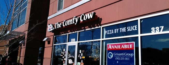 The Comfy Cow is one of Kentucky Y'all.