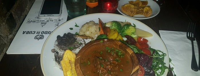 Escudo de Cuba is one of Caribbean Food in London.