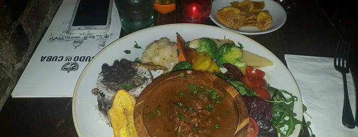 Escudo de Cuba is one of Caribbean Food in London.