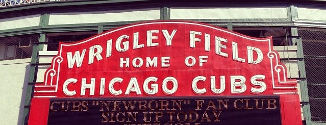 Wrigley Field is one of X-Country.