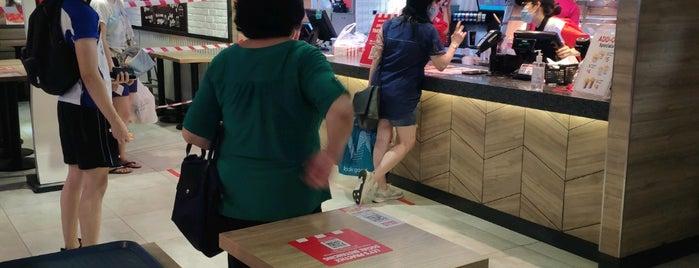 KFC is one of Orte, die Kevin gefallen.