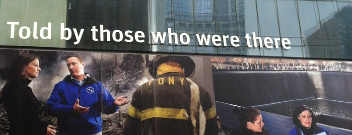 9/11 Tribute Center is one of USA NYC MAN FiDi.