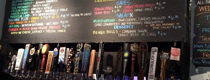 The Regal Beagle Ale House & Sausage Grill is one of San Diego.