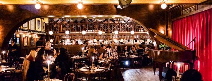 Restaurant Hubert is one of Sydney for coffee-loving design nerds.