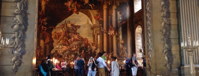 Painted Hall is one of ЛОНДРЕСОвое.