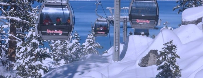 Heavenly Gondola is one of Tahoe.