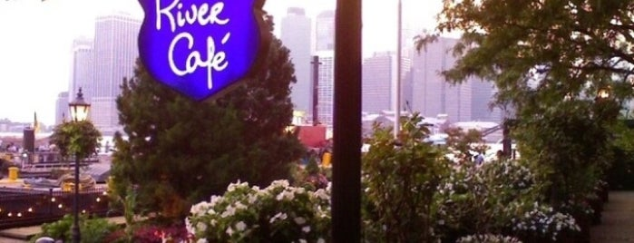 The River Café is one of Brooklyn Heights Neighborhood Guide.