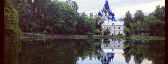 Костинский пруд is one of Lieux sauvegardés par TaCA$Hi.