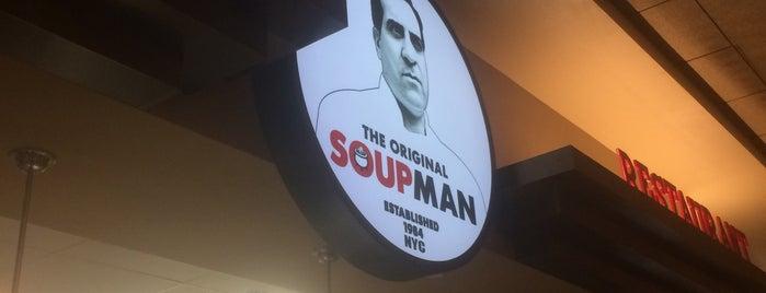 The Original Soupman is one of สถานที่ที่ David ถูกใจ.