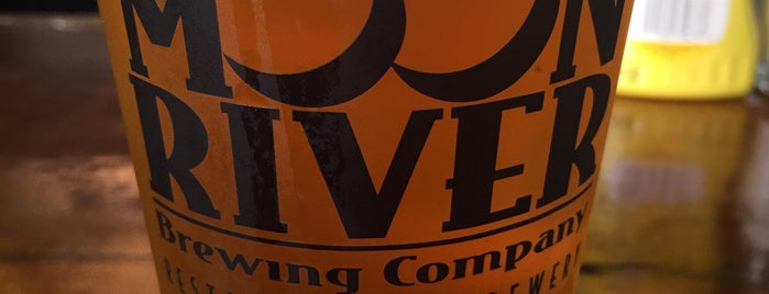 Moon River Brewing Company is one of Christoph's Liked Places.
