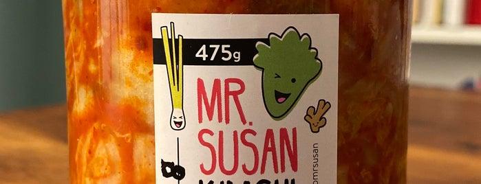 Mr. Susan is one of Christoph'un Beğendiği Mekanlar.