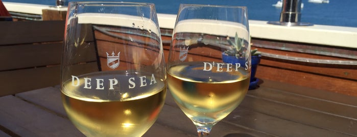 Deep Sea Tasting Room is one of Christoph's Liked Places.