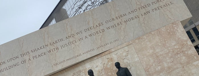 Dwight D. Eisenhower Memorial is one of DC Monuments Run.