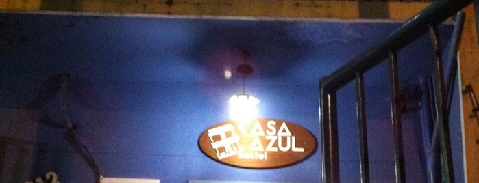 Casa Azul Hostel is one of Eat, Drink & Coffee.