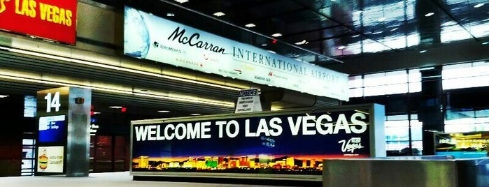 McCarran International Airport (LAS) is one of Foursquare City Int'l Airport.