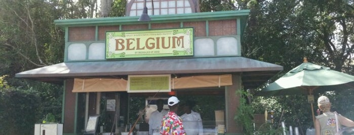 Marketplace - Belgium is one of Disney Dining.