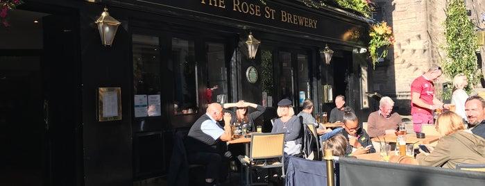 Rose Street Brewery is one of Mark : понравившиеся места.