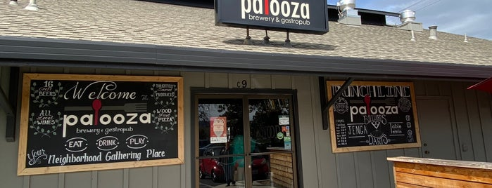 Palooza Gastropub and Wine Bar is one of Yet to Visit.