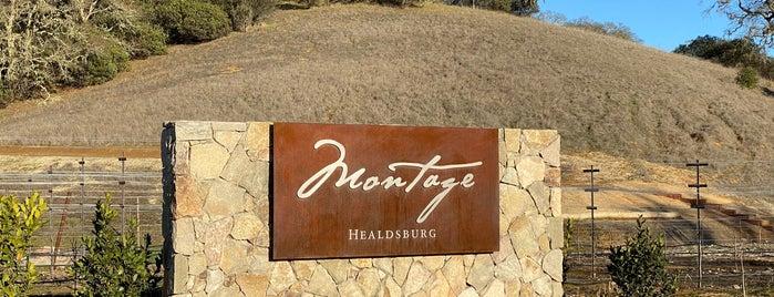 Montage Healdsburg is one of Lieux qui ont plu à Dan.