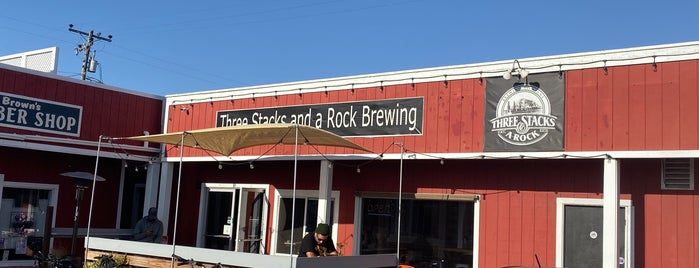 Three Stacks & A Rock Brewery is one of California Breweries 3.