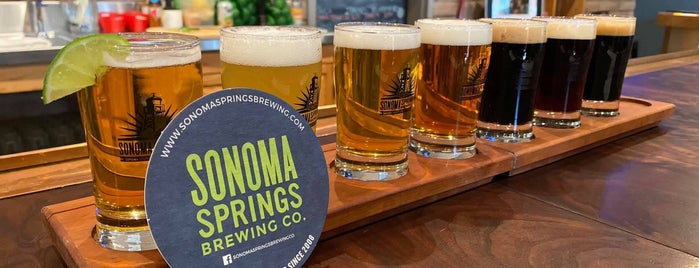 Sonoma Springs Brewing Company is one of CA Northern Breweries.