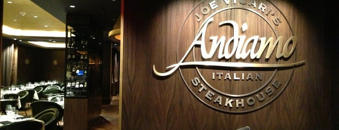 Joe Vicari's Andiamo Steakhouse is one of Elizaroseさんの保存済みスポット.