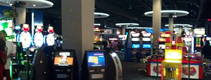 Dave & Buster's is one of Entertainment/Places.