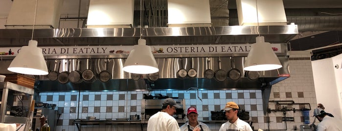 Osteria Di Eataly is one of Chicago.