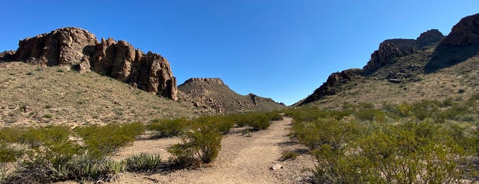 Grapevine Hills Trail is one of MRF.