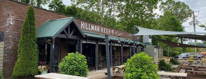 Hillman Beer is one of NC Breweries.