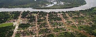Novo Santo Antônio is one of Mato Grosso.