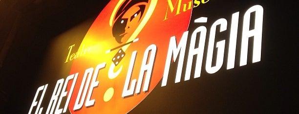 Teatre El Rey de la Magia is one of Blog de Barcelona: los mejores sitios!.