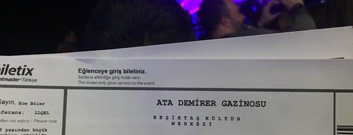 BKM Ata Demirer Gazinosu is one of Berkant'ın Beğendiği Mekanlar.
